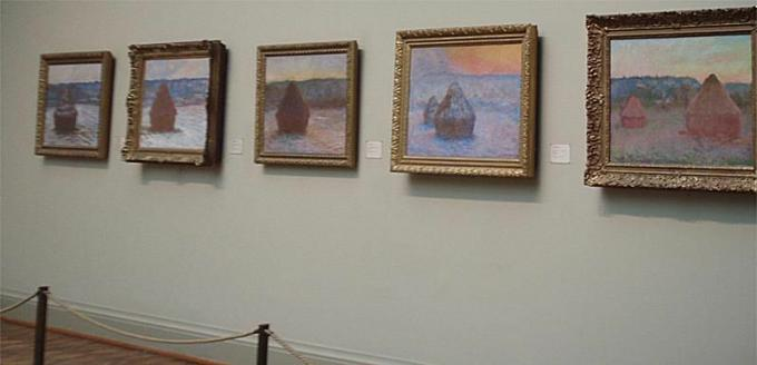 Haystack Series - Monet - Kunstinstitut von Chicago