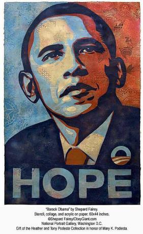 Barack Obama - Shepard Fairey